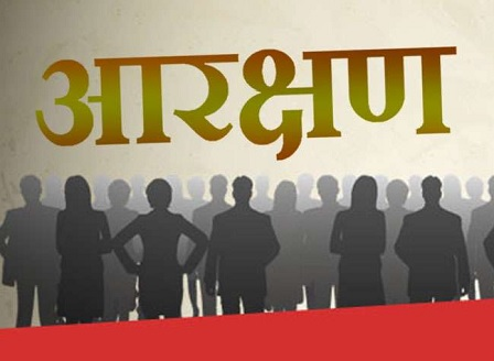 what is reservation in hindi
