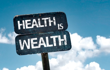 health is wealth in hindi